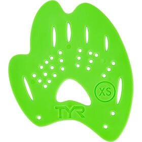 TYR Mentor 2 Paletas de mano L, flou green
